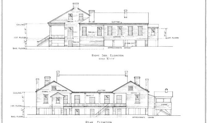 Architectural Drawings Houses Modern House