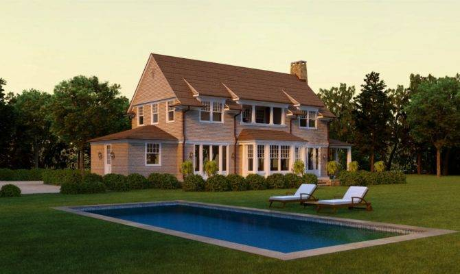 Architectural Home Plans New England Shingle Style