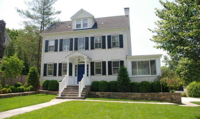 Architecture Colonial Farmhouse Design