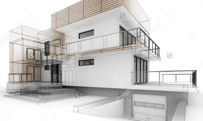 Architecture Design House Drawing