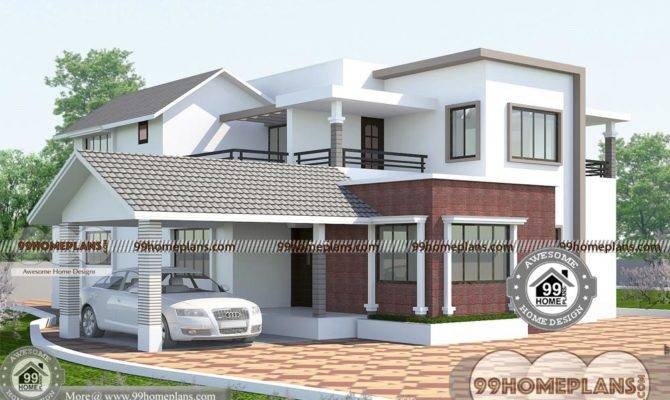 Architecture Design Houses India Double Story