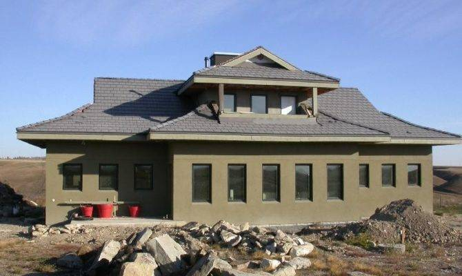 Architecture Extravagant Gray Color Traditional Icf Home Plans Design