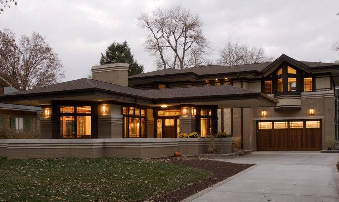 Architecture Frank Lloyd Wright Style House Plans