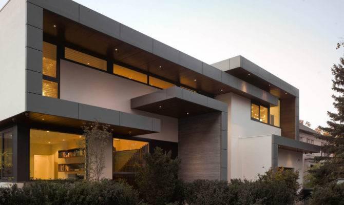 Architecture Impressive Modern Home Toronto Canada