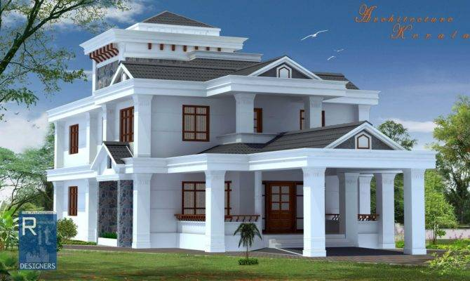 Architecture Kerala Bed Room House Home Plans