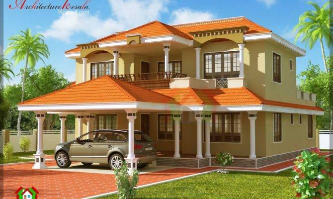 Architecture Kerala Bhk Traditional Style House Plan Details