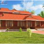 Architecture Kerala Nalukettu Style House Elevation