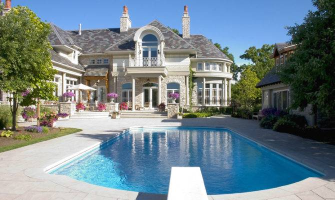 Architecture Stunning Mansions Pools Which Can