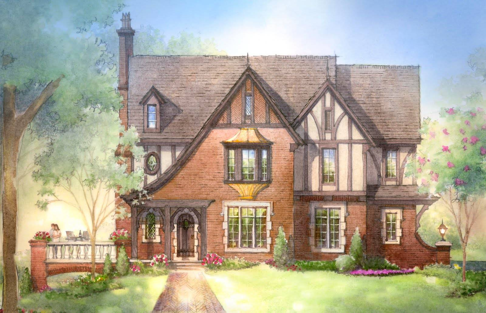Archival Designs Offers House Plans Luxury Palladian
