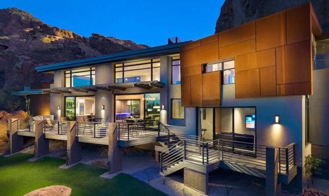 Arizona Contemporary Luster Custom Homes Homeadore