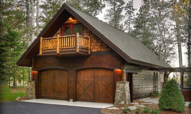 Artistic Rustic Garage Plans House