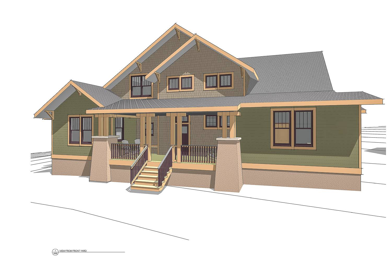 Arts Crafts Home Trinity Design Build