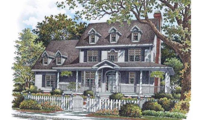 Arts Crafts House Plan Plans Farmhouse