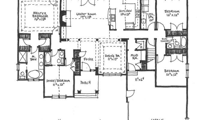 Arts Crafts House Plan Plans