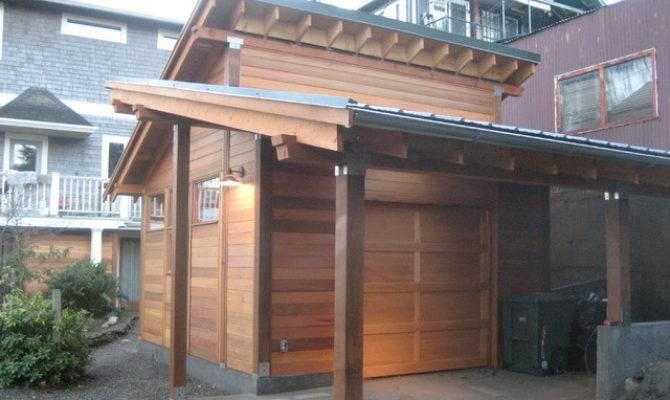 Asian Inspired Garage Seattle