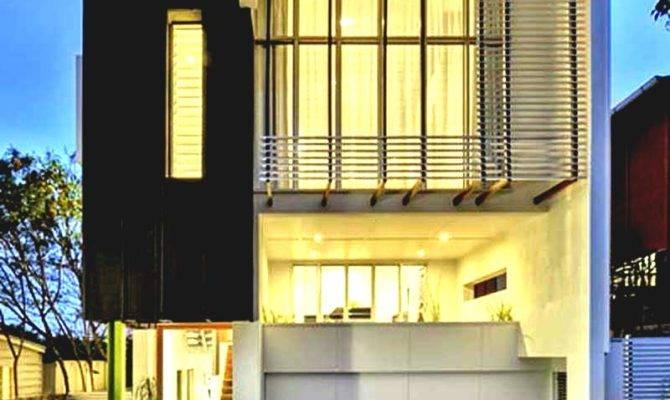 Astounding Modern House Front Design Home Emejing