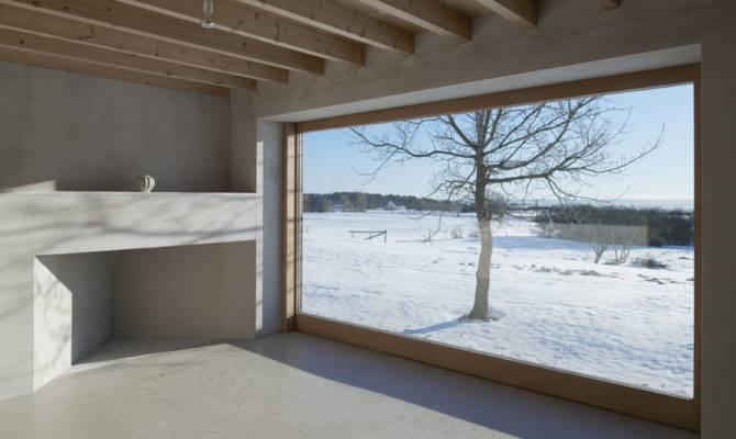 Atrium House Gotland Sweden Tham Videg Arkitekter