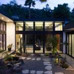 Atrium House Mid Century Architecture Residence Klopf
