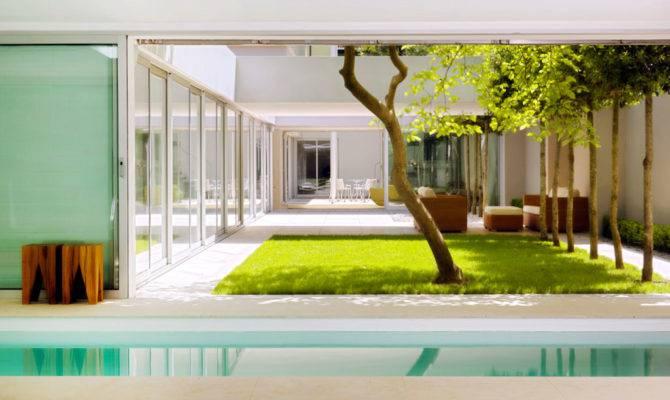Atrium House Munich Harlaching Max Brunner Architekt Ideasgn