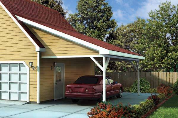 Attached Carport Designs Homedesignpictures