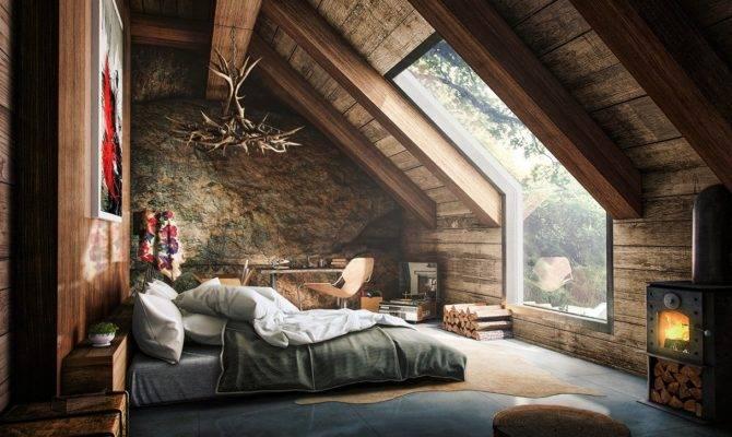 Attic Bedroom Interior Design Ideas