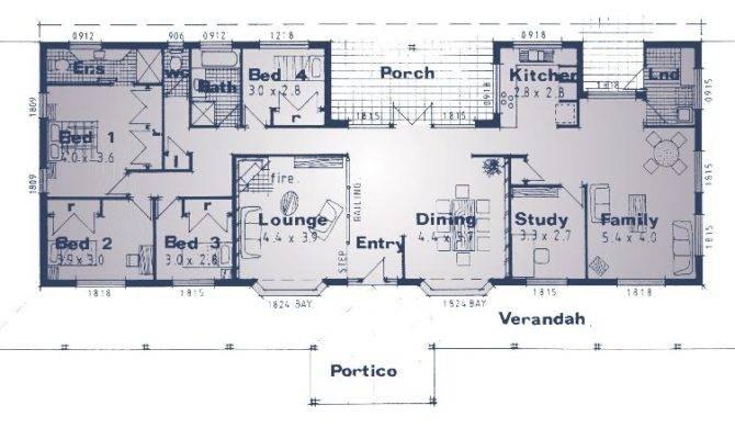 Australian Homestead Plans House