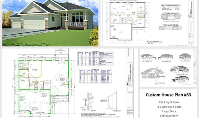 Autocad House Plans Building