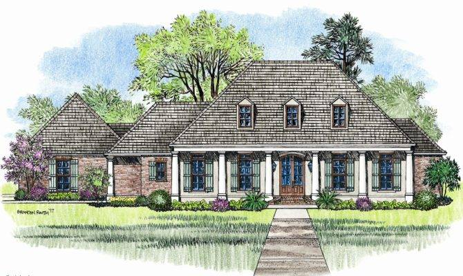 Awesome Acadian House Plans Home Design