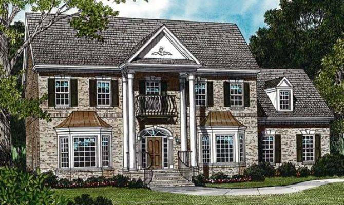 Awesome Classic Colonial Homes Traditional House Plans