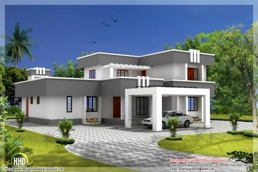 Awesome Contemporary Duplex Home Designs House Plans