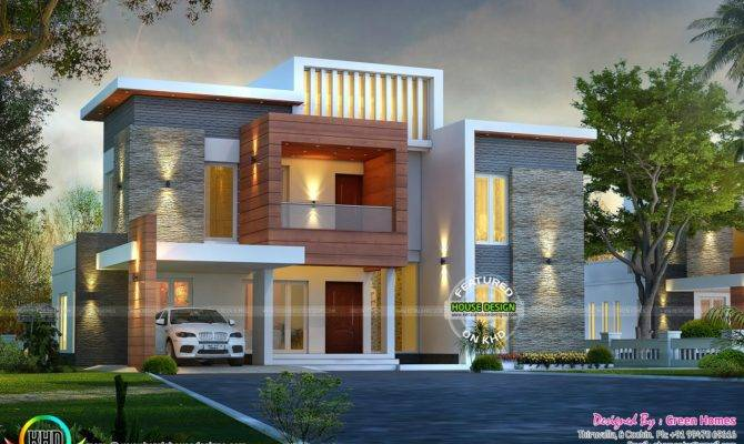 Awesome Contemporary Style Home Kerala