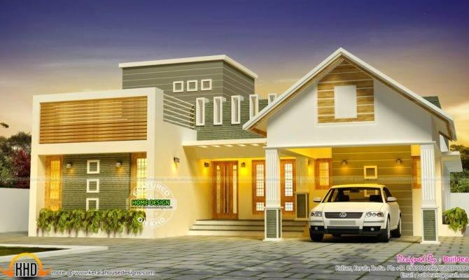 Awesome Dream Home Design Kerala Floor Plans