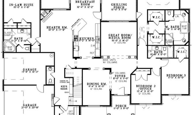 Awesome Home Plans More Ranch House Open Floor