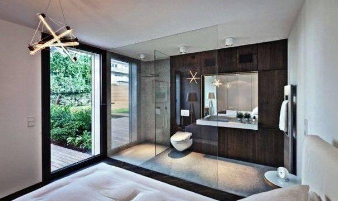 Awesome Master Bedroom Ensuite Bathroom Open Plan