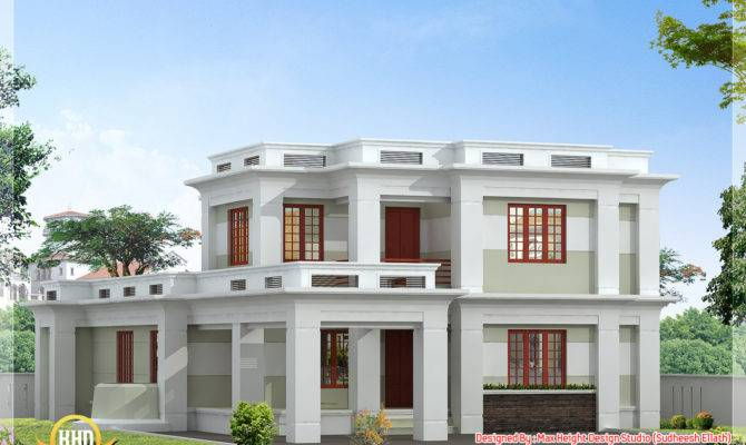 Awesome Modern Flat Roof House Plans