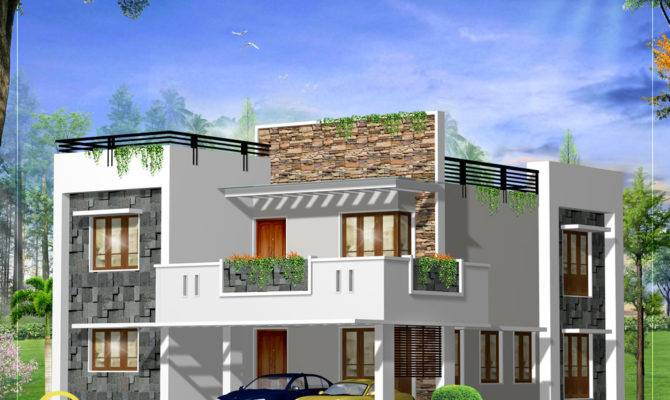 Awesome Modern Foursquare House Plans