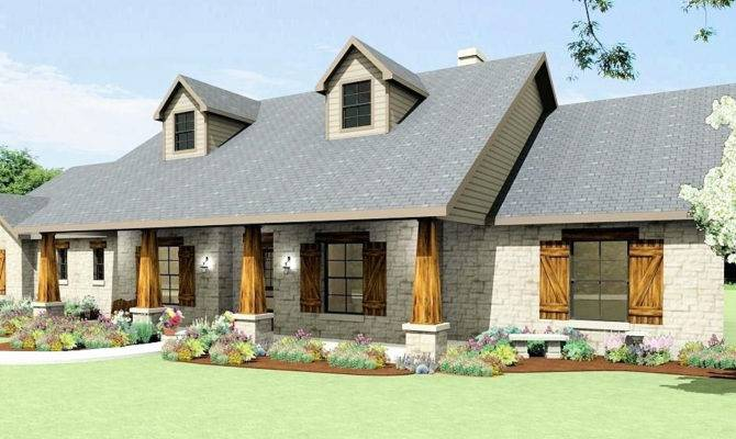 Awesome Photos One Story House Plans Country Style Home