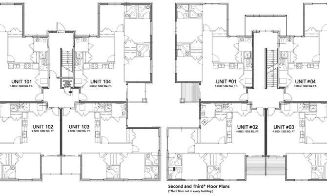 Awesome Plex Apartment Plans Building