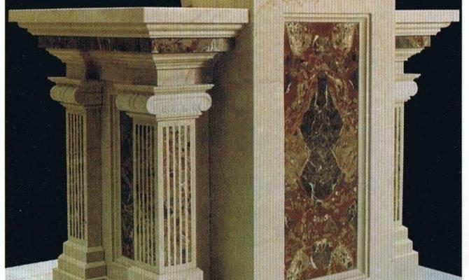 Awesome Square Pillar Design Home Photos Decoration
