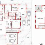 Awesome Storey House Plumbing Plan Home