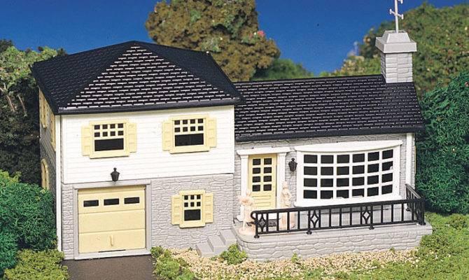 Bachmann Plasticville Building Kit Split Level House