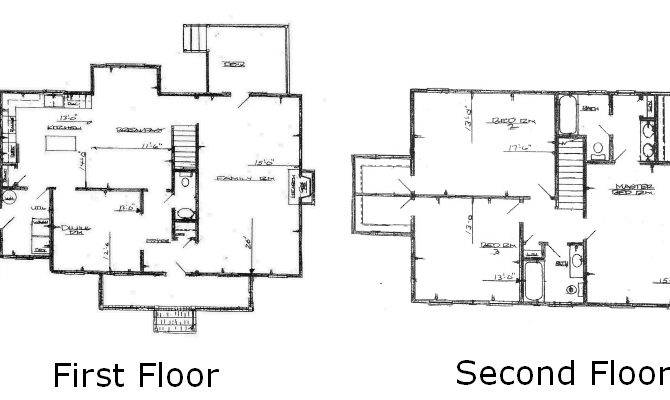 Back House Floor Plans Bedroom Bath Story