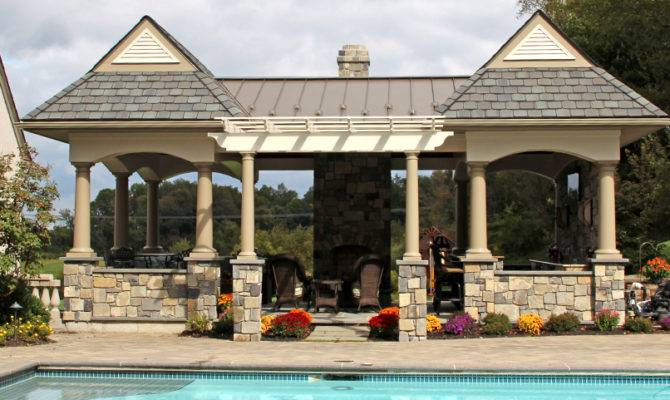 Backyard Ideas Outdoor Cabanas Gazebos Pool