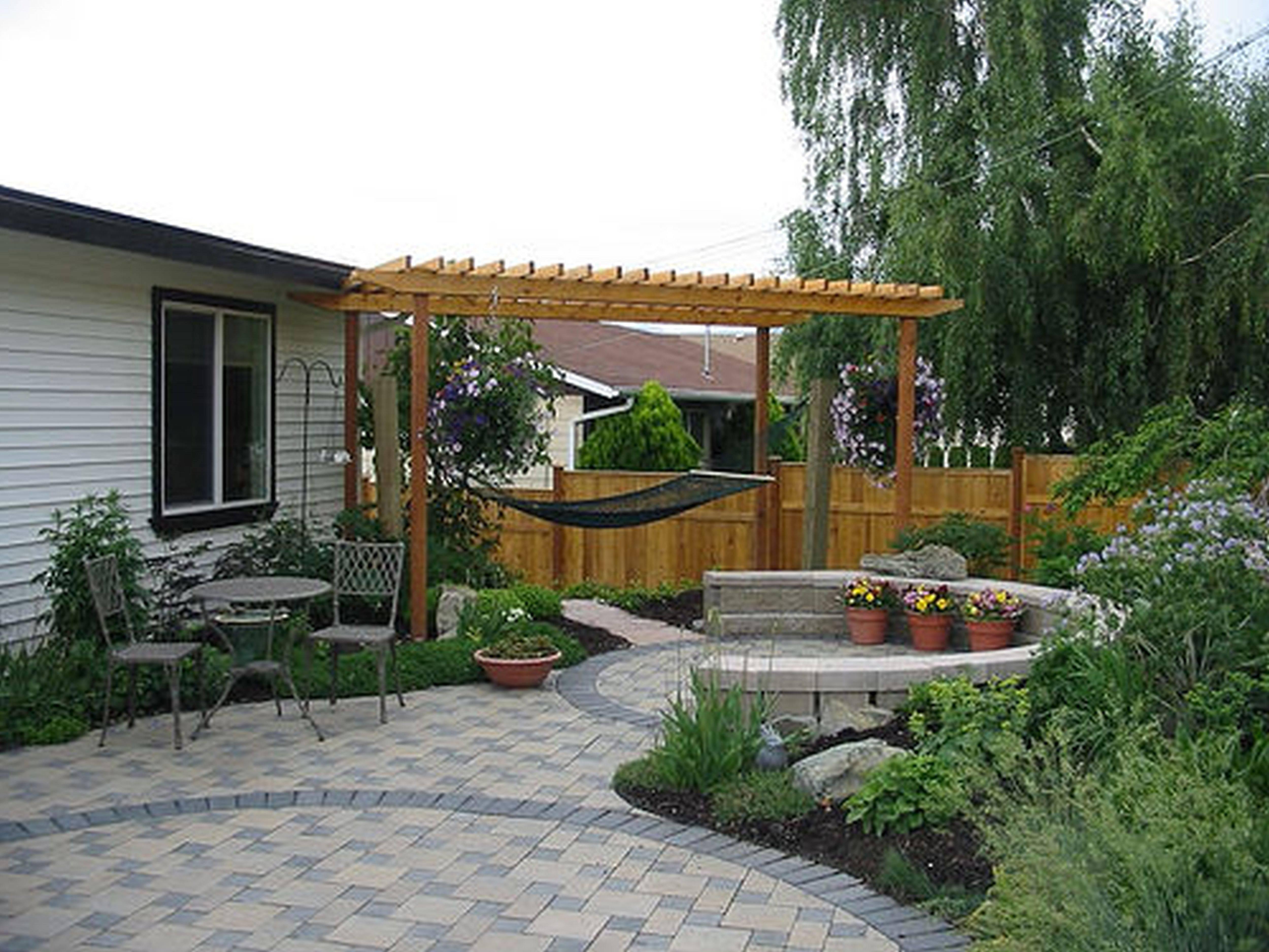 Backyard Patio Ideas Cheap Home Modern Garden