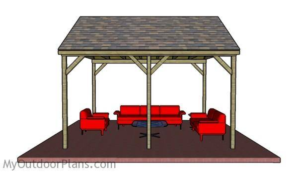 Backyard Pavilion Plans Myoutdoorplans