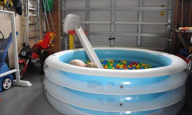 Balls Bubbles Indoor Pool Activities