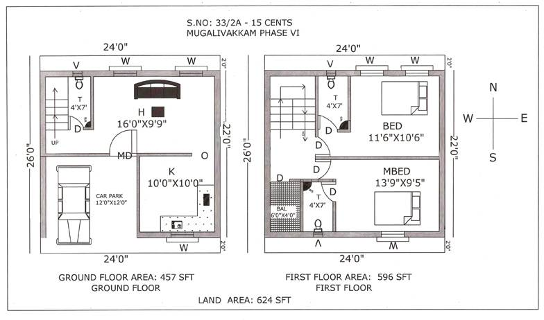 Baltimore Row House Floor Plan