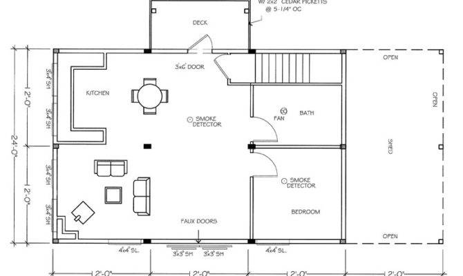 Barn Apartment Plans
