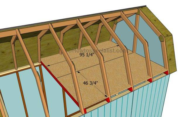 Barn Shed Plans Howtospecialist Build Step