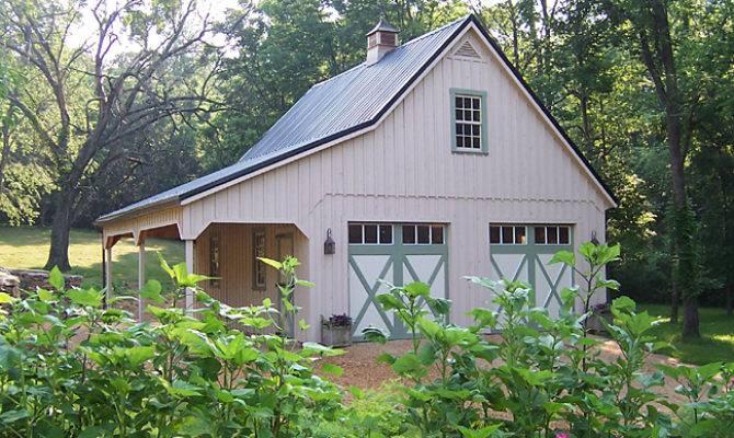 Barn Style Car Garage